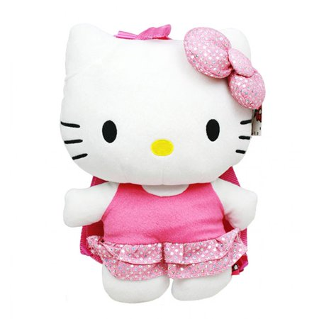 Hello Kitty Sequin Plush Backpack #68387