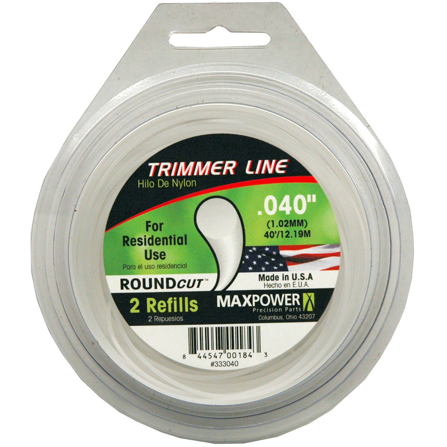 "Maxpower 333040 .040"" x 40' Trimmer Line"