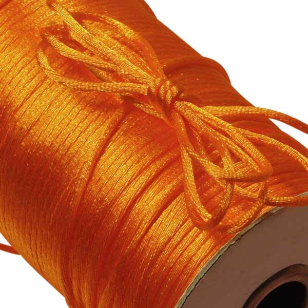 100 yards Satin Rattail Cord 2mm shamballa nylon macrame kumihimo string