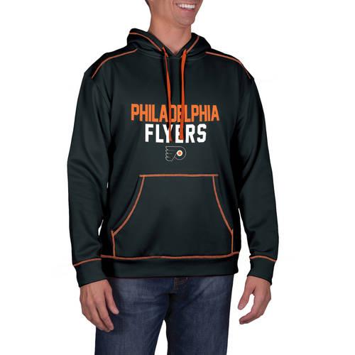 NHL Philadelphia Flyers Men's Classic-Fit Long Sleeve Pullover Impact Hoodie