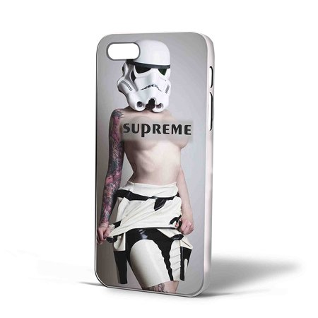 Ganma Stormtrooper Star Wars sexy girl Case For iPhone Case (Case For iPhone 5/5s Black)