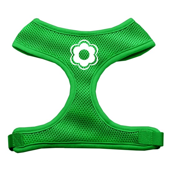 Daisy Design Soft Mesh Harnesses Emerald Green Medium