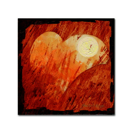 Trademark Fine Art 'Harvest Moon' Canvas Art by Marion Rose