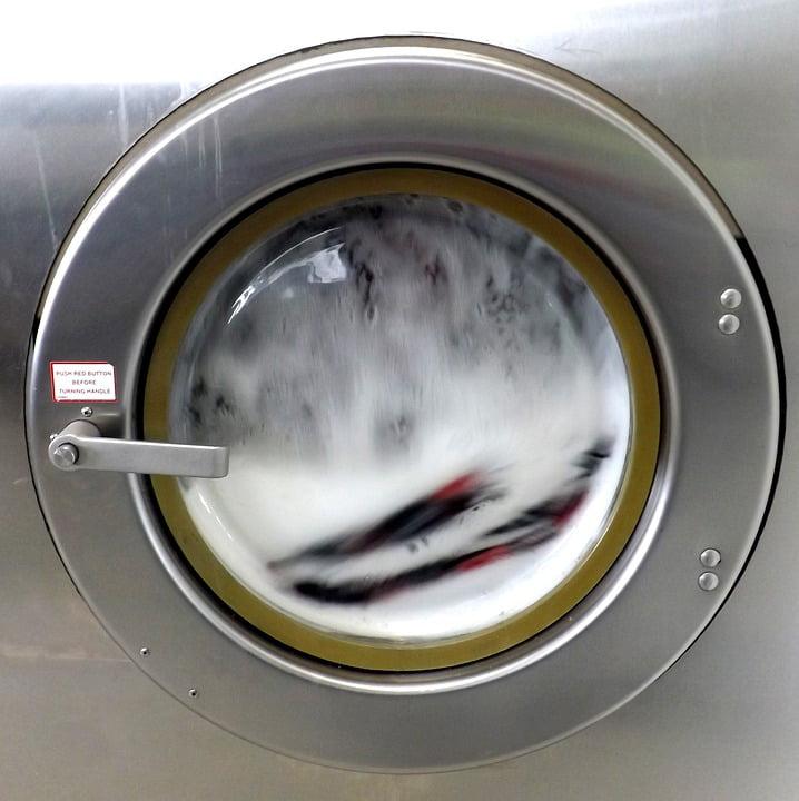 LAMINATED POSTER Washing Machine Soap Washer Chores Laundromat Poster Print 24 x 36