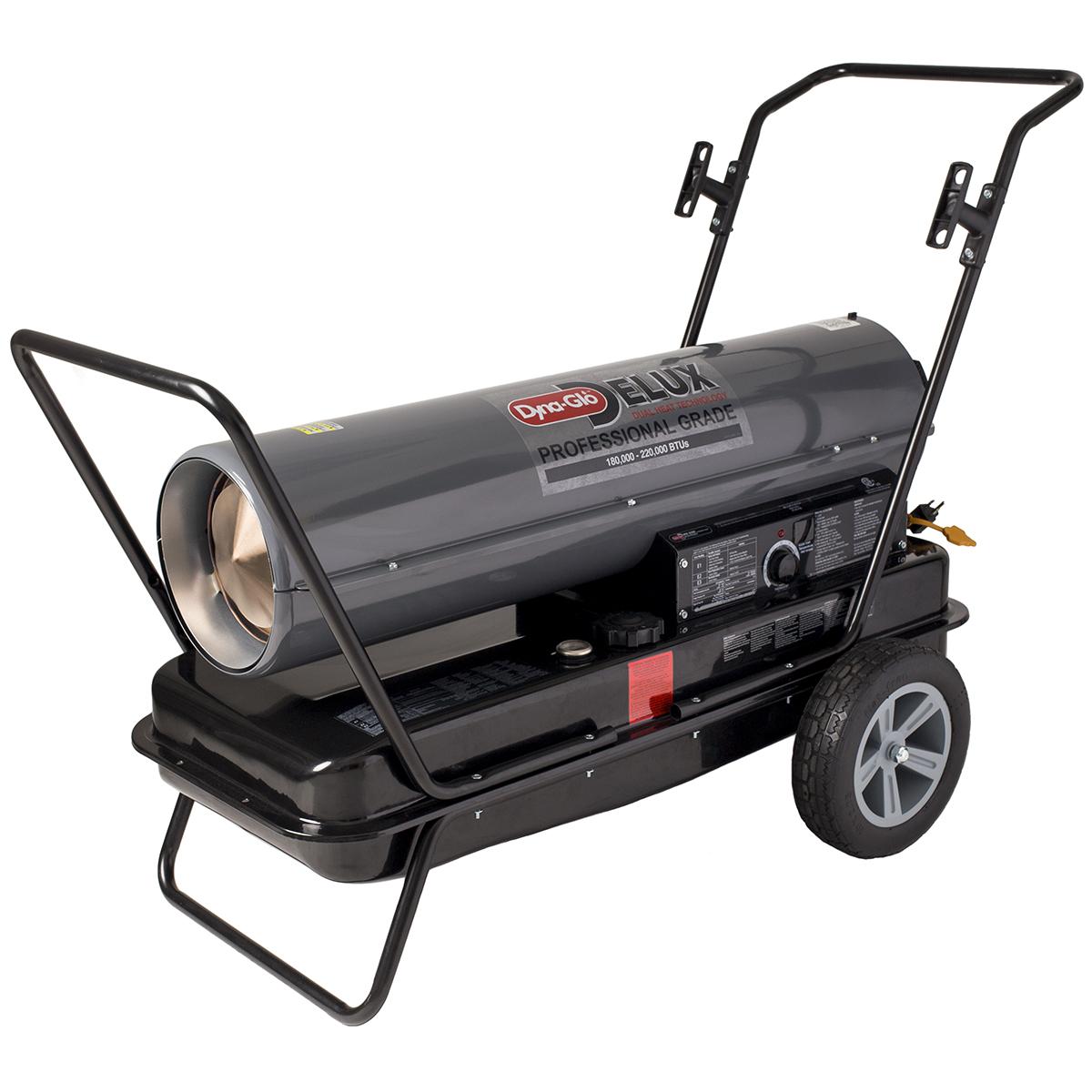Dyna-Glo Delux 180,000 or 220,000 BTU Kerosene Forced Air Heater