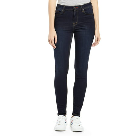 Womens Light Blue Jeans - Women's Preston High Rise Skinny Jean