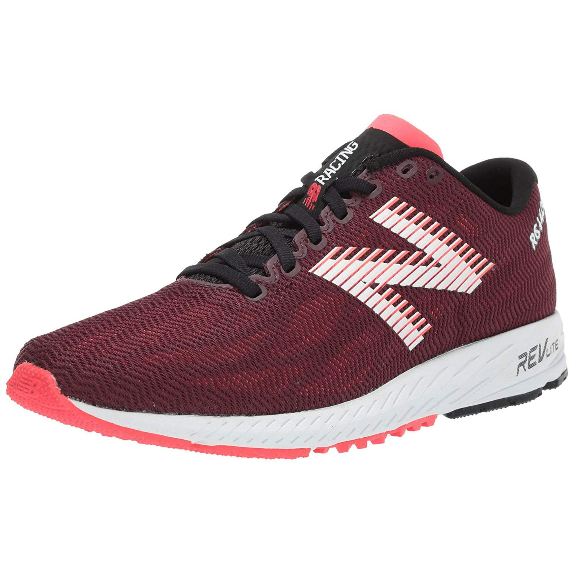 New Balance Women's 1400v6 Running Shoe, Nubuck Burgundy/Bright Cherry, 5 B US