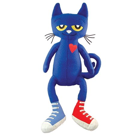 Pete the Cat Plush Doll, 14.5-Inch, Pete the Cat plush doll By MerryMakers](Pete The Cat Doll)