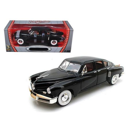 Road Signature 82268bk 1948 Tucker Torpedo Black Limited Edition to 600 Piece 1-18 Diecast Model - image 1 of 1