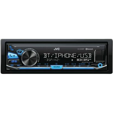 Jvcm Kd X240bt Single Din In Dash Am Fm Digital Media Receiver With Bluetooth