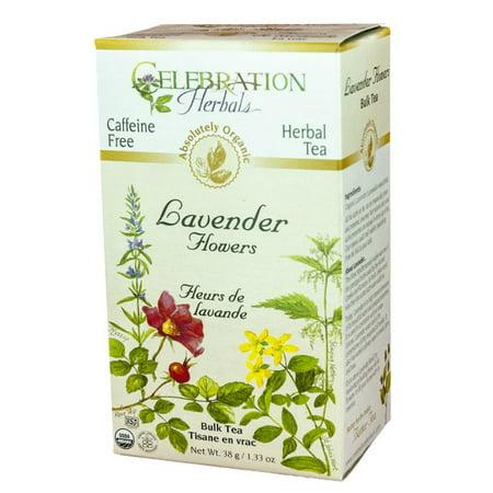 Celebration Herbals Fleurs Lavande en vrac Thé sans caféine 38 g