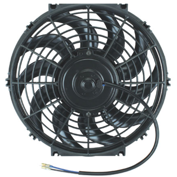 American Volt Heavy Duty 11 Transmission Oil Cooler 9 Inch Electric Fan /& Push-in Probe Thermostat Switch Kit 140F On - 125F Off