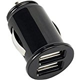 3.1Amp Rapid Car Charger Travel DC Socket Power Adapter Ultra Compact Black for Net10 Samsung Galaxy Alpha _ Net10 Samsung Galax