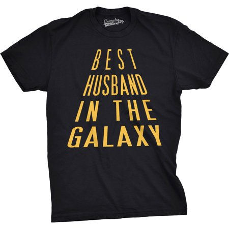 Mens Best Husband In The Galaxy Funny Nerdy Love Valentines Day T (Funny Valentines Day Sayings For Best Friends)