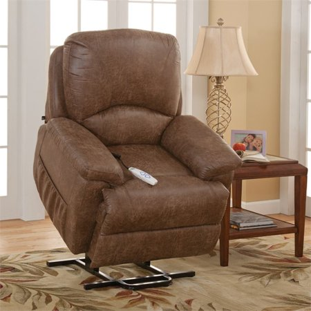 Hawthorne Collections Comfort Lift Recliner in Brown - image 5 of 6