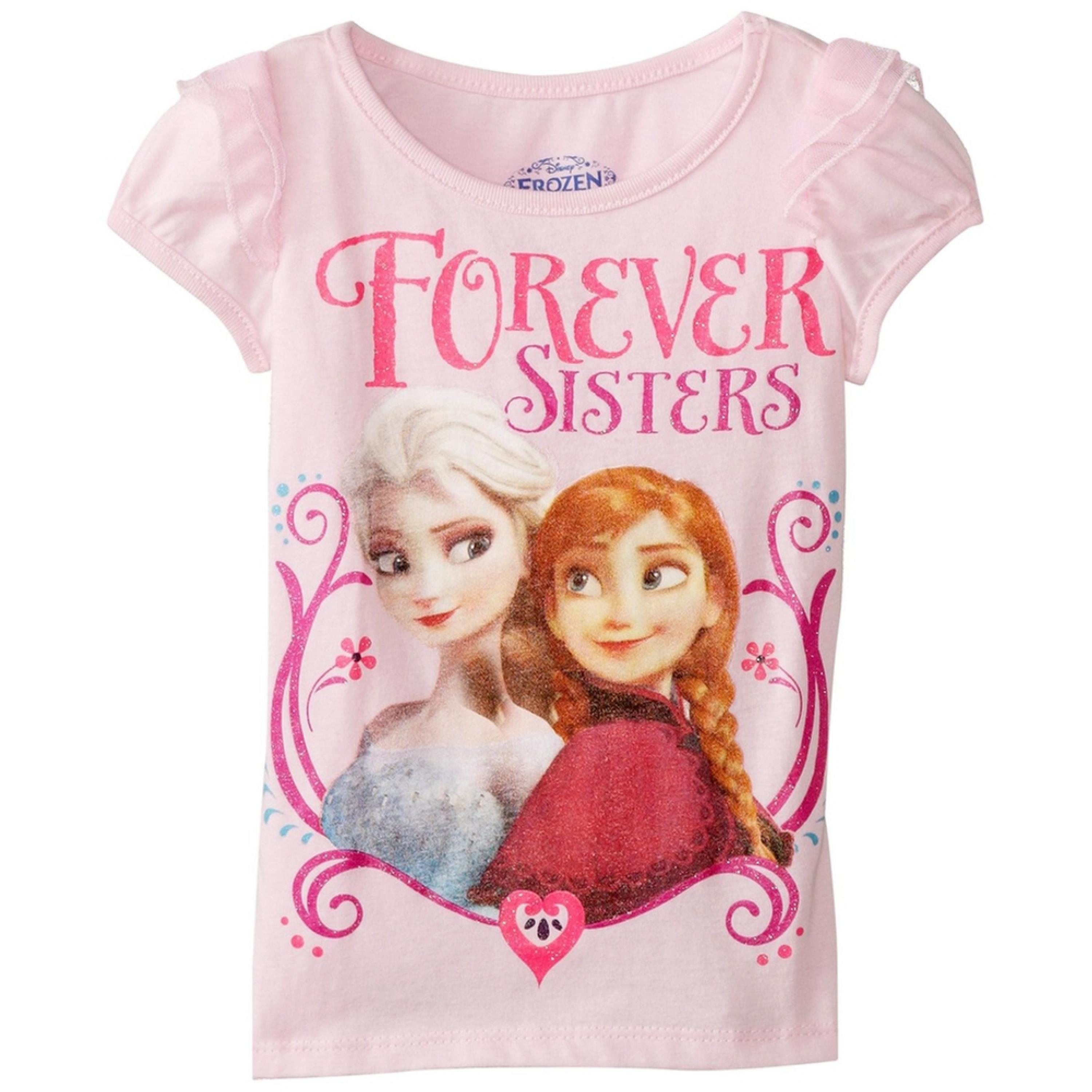 Frozen - Forever Sisters Toddler Puff Sleeve T-Shirt