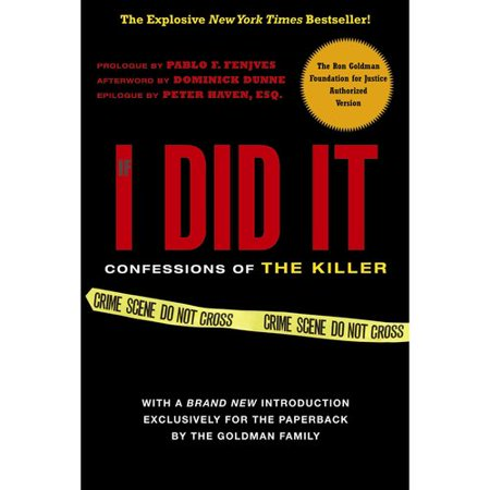 If I Did It  Confessions Of The Killer