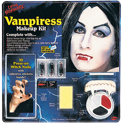 Living Nightmare Vampiress Kit Halloween Accessory
