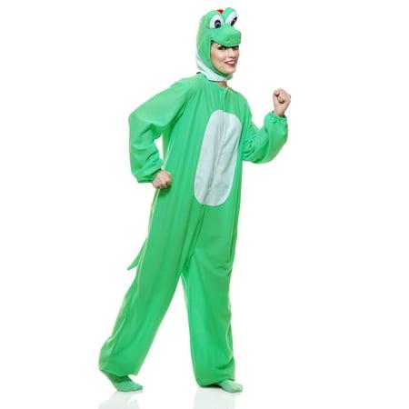 Yoshi-moto the Green Dino Adult Costume - Yoshi Costume Pattern
