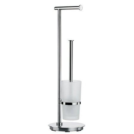 Smedbo Outline Lite Free Standing Toilet Brush Set ()