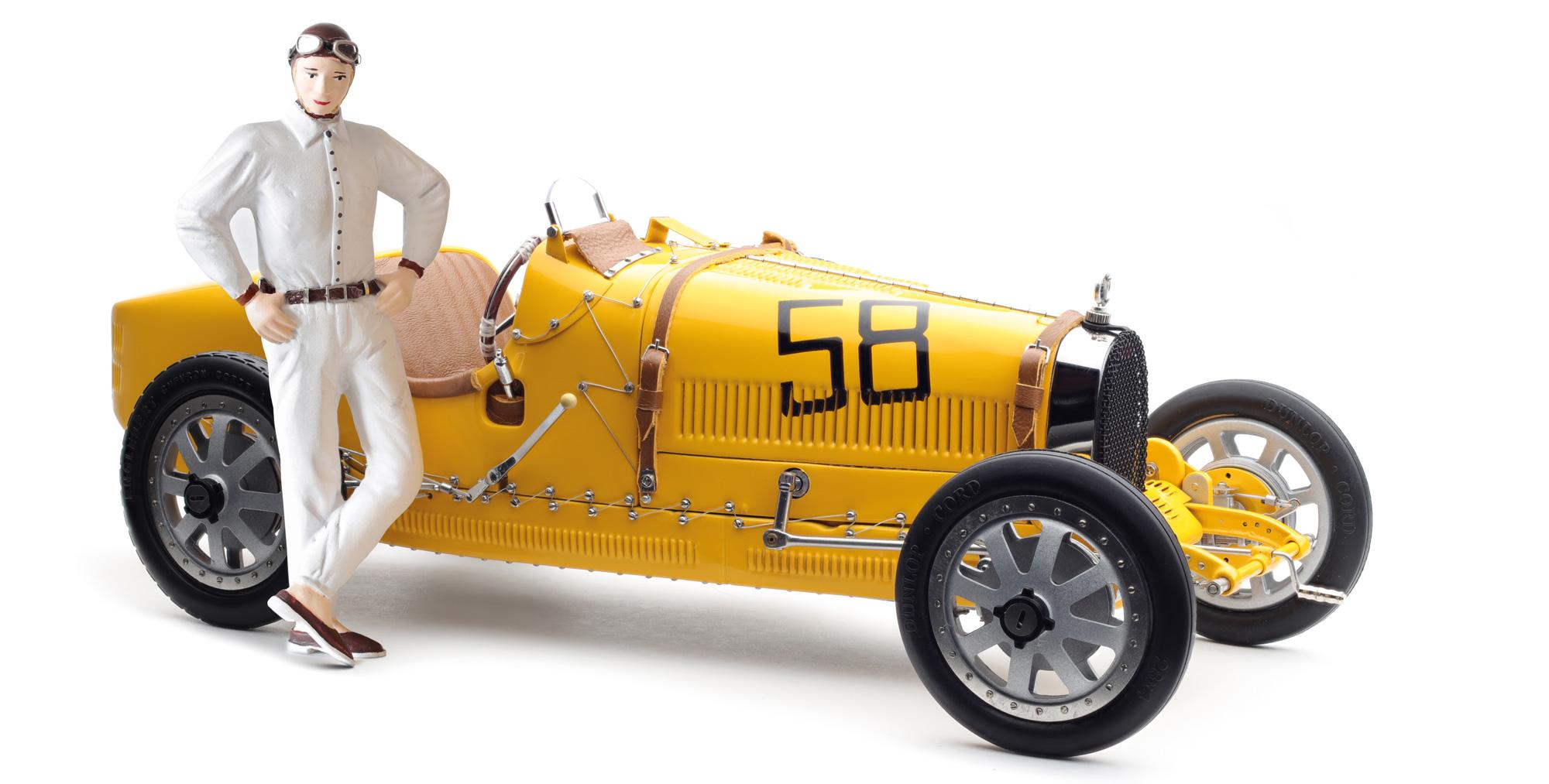 Hellé Nice Figur für 1:18 CMC Bugatti