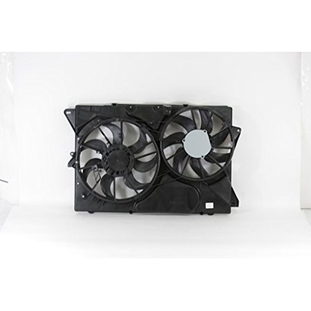 Dual Radiator and Condenser Fan Assembly - Cooling Direct For/Fit FO3115202 13-15 Ford Explorer 2.0L/3.5L WITHOUT Turbo 13-16 Flex 3.5L MKT 3.5L Turbo / 3.7L 05 Ford Explorer Radiator