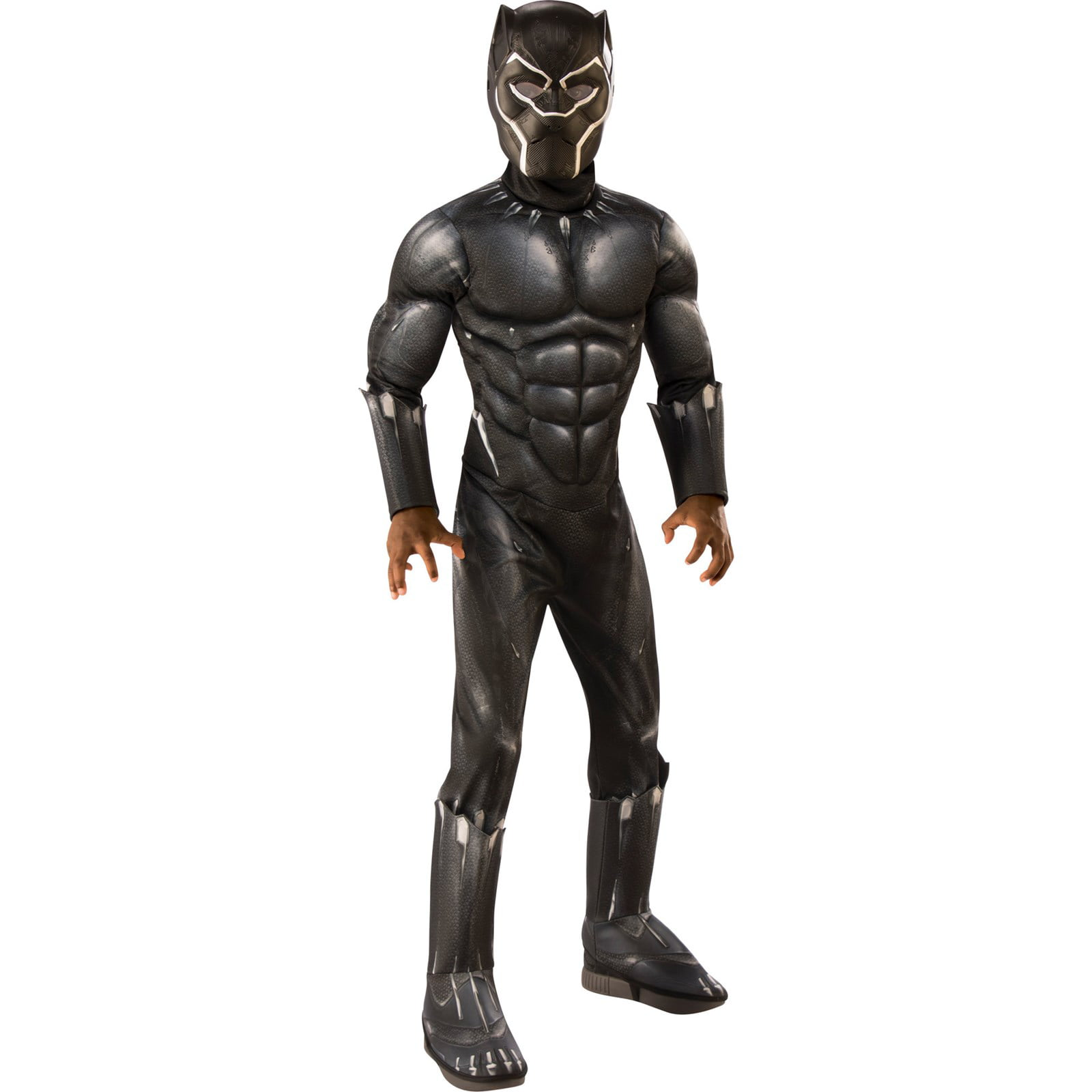 Marvel Black Panther Movie Boys Deluxe Boys Costume Walmart Com