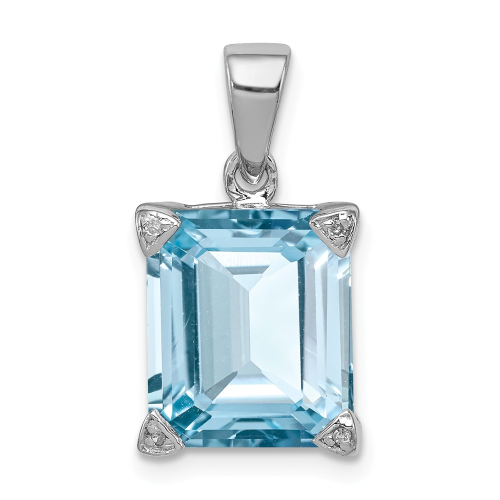 FB Jewels 925 Sterling Silver Mens Women Initial P Charm Pendant