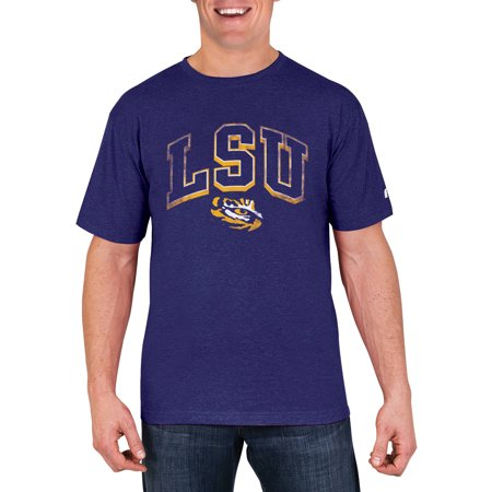 NCAA LSU Tigers Men's Cotton/Poly Blend T-Shirt