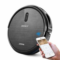 Ecovacs DEEBOT N79 Robot Vacuum wifi connected, Black