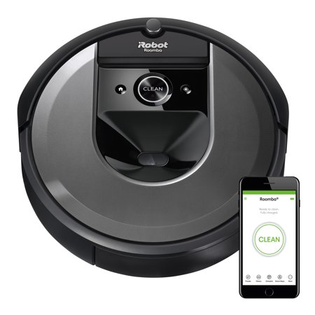 iRobot Roomba i7 (7150) Robot Vacuum- Wi-Fi Connected, Smart Mapping, Works with Alexa, Ideal for Pet Hair, Carpets, Hard (Best Roomba For Hardwood)