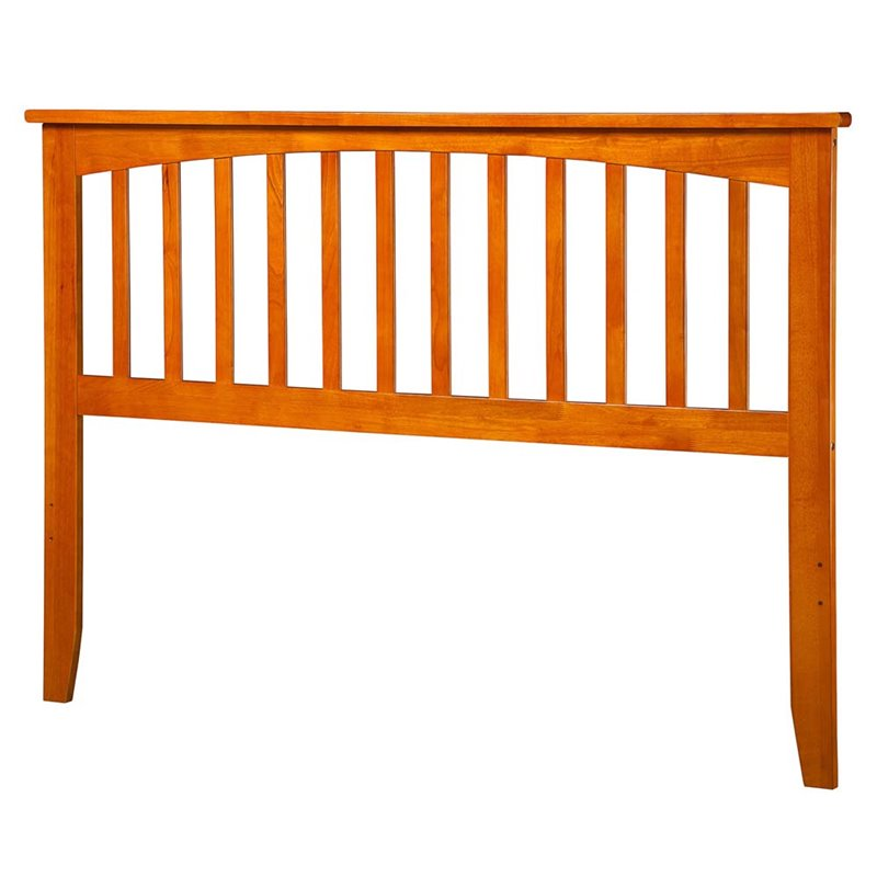 Atlantic Furniture Mission King Spindle Headboard in Caramel Latte by Atlantic Furniture