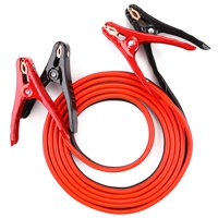 Everstart Jumper Cables 12 Feet 8 AWG Gauge with Heavy Duty Clamps, Tangle-Free