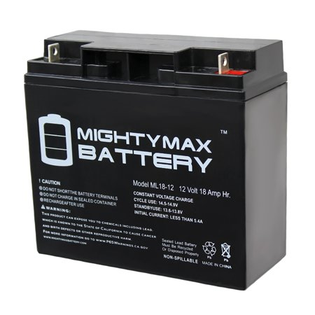 Battery Block - 12V 18AH SLA Replacement Battery for Black and Decker JUS500IB