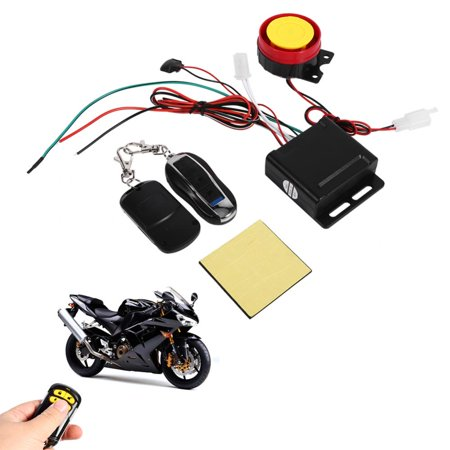 HURRISE 12V Anti-theft Security Alarm System Remote Control Engine Start Motorcycle