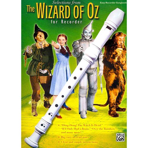 Selections From The Wizard of Oz for Recorder: Easy Recorder Songbook