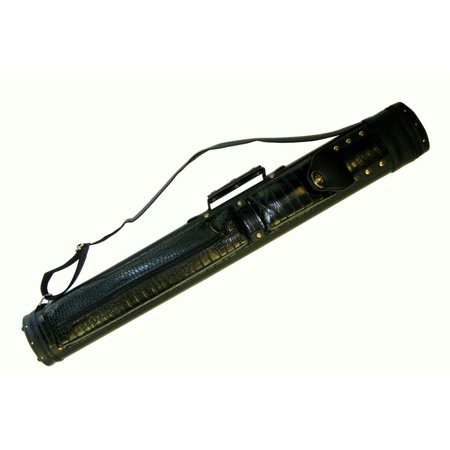 2 X 2 Hard Pool Cue Billiard Stick Carrying Case Black 2x2 (Black Hard Cue Case)