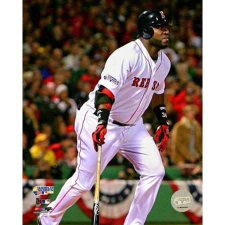 David Ortiz Game Two of the 2007 Major League Baseball World Series Action Photo Print (16 x 20)