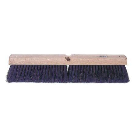 Fine Sweeping Broom - TOUGH GUY Horse Hair/Polypropylene Fine Sweeping Push Broom