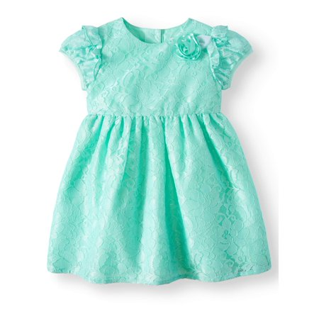 Special Occasion Cap Sleeve Dress (Toddler Girls)