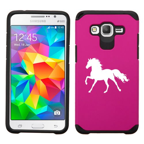 For Samsung Galaxy Core Prime Shockproof Impact Hard Soft Case Cover