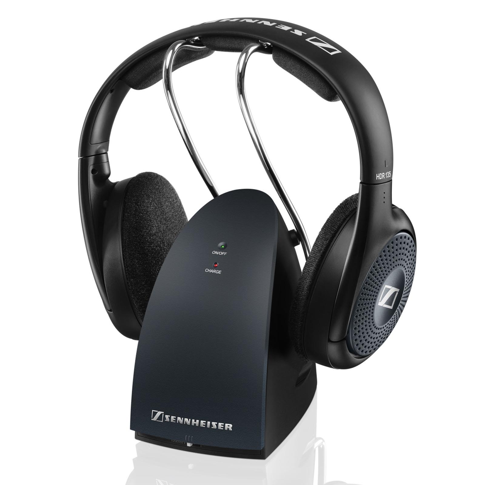 Sennheiser 506298 900MHz Open-Aire RF Headphones with Charging Stand