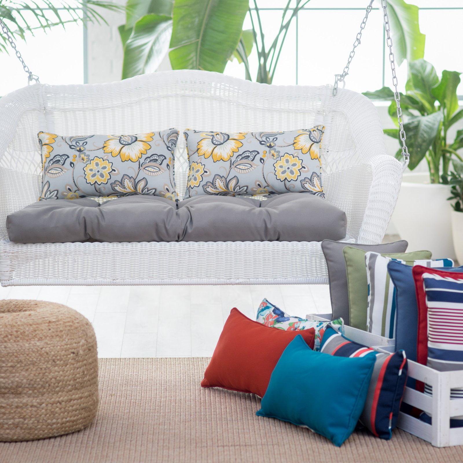 Coral Coast Classic 18 x 10 in. Rectangle Outdoor Lumbar Pillow - Set of 2