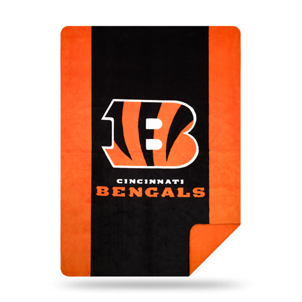 Cincinnati Bengals The Northwest Company 60'' x 72'' Denali Silver Knit Throw - No Size