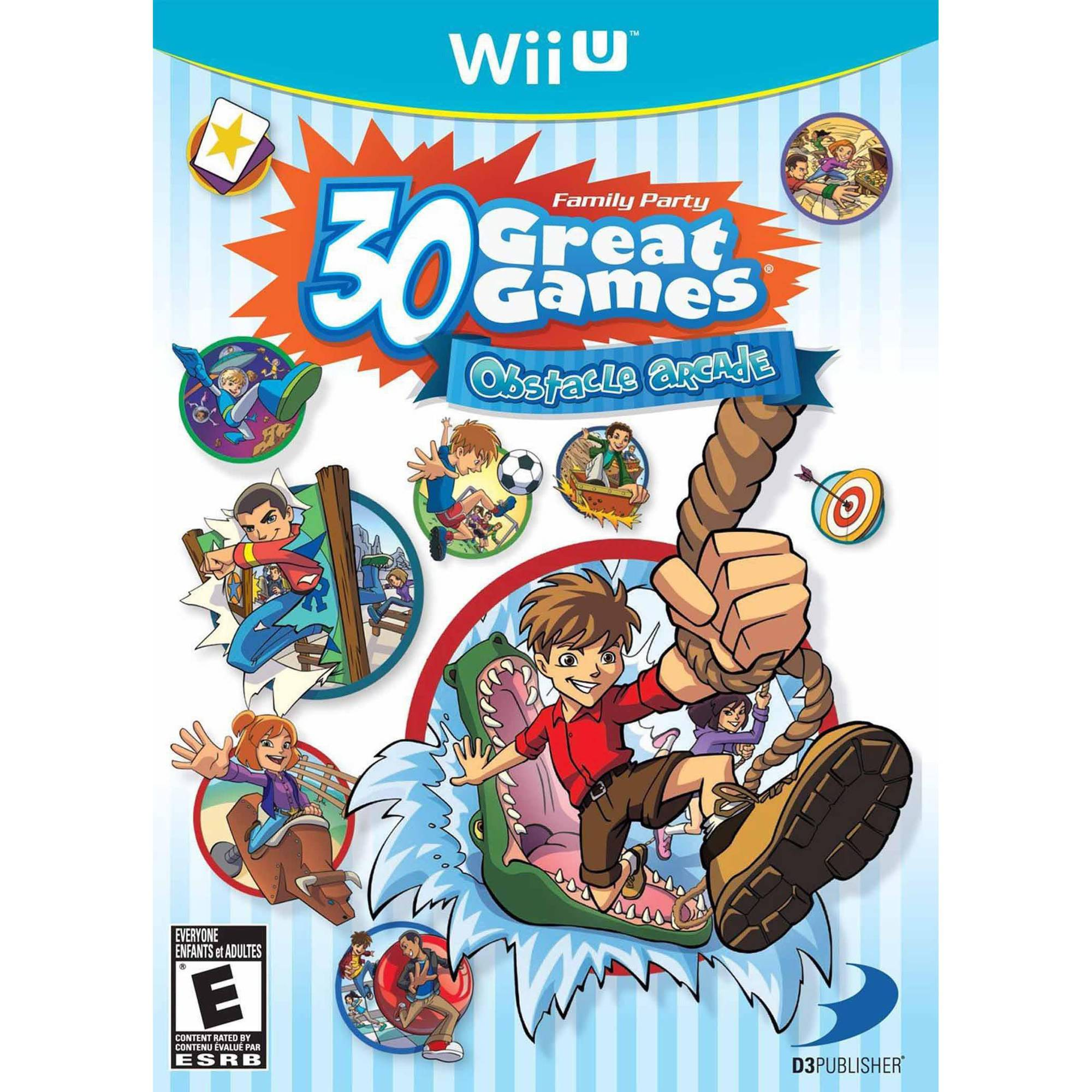 Family Party 30 Great Games Obstacle  Arcade (Wii U)