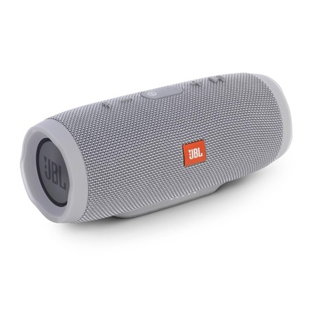 jbl charge 3 grey open box waterproof portable bluetooth. Black Bedroom Furniture Sets. Home Design Ideas