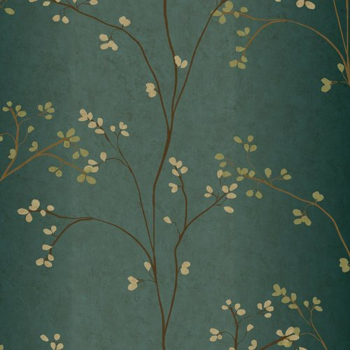 York Wallcoverings Book Vertical Blossoms 33' x 20.5'' Wallpaper Roll