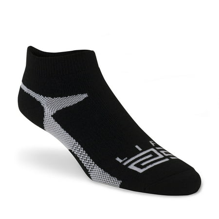 Wool V-neck Golf - LIFT 23 Golf Socks Low Rise Meriono Wool with Arch Compression and Seamless Toe