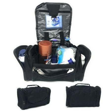 40faf2a7d5 Travel Organizer Accessory Toiletry Cosmetics Medicine Make Up Shaving Kit  Bag - Walmart.com