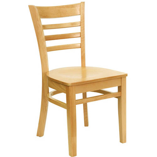 Ladder Back Chairs   Set Of 2, Natural